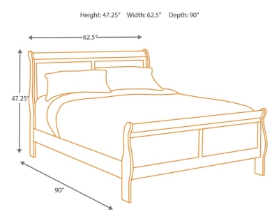 Alisdair Queen Sleigh Bed With Mattress Ashley Furniture Homestore