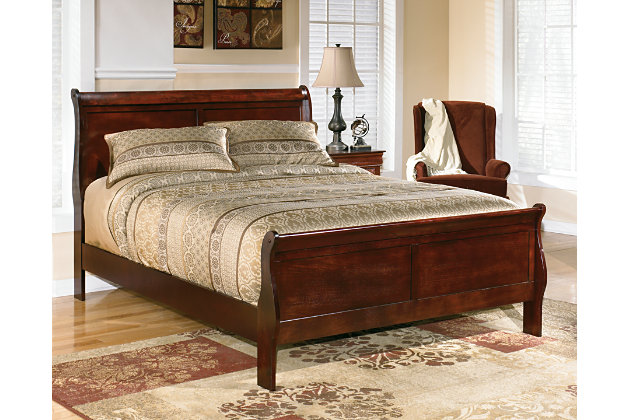 Outstanding Alisdair Queen Sleigh Bed Product Photo