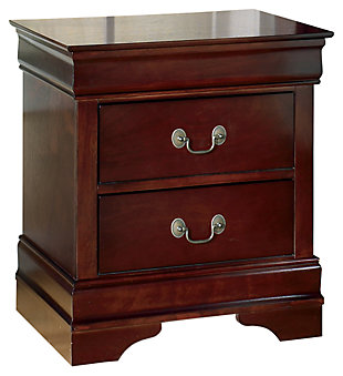Alisdair Queen Bed with 2 Nightstands, Dark Brown, rollover