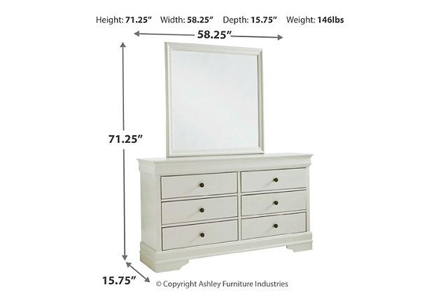 Jorstad Dresser and Mirror, , large