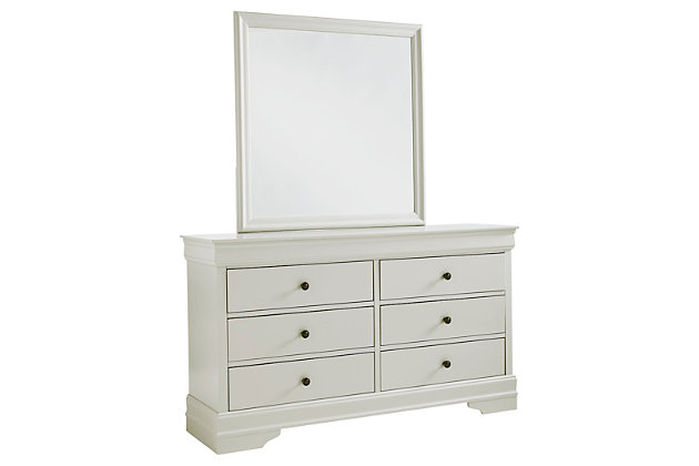 Jorstad Dresser and Mirror, , large