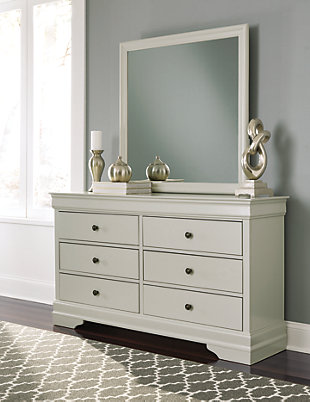 Jorstad Dresser and Mirror, , rollover