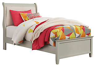 Jorstad Full Sleigh Bed, Gray, large