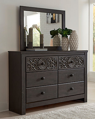 Paxberry Dresser and Mirror, , rollover