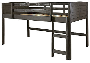 Caitbrook Twin Loft Bed Frame, , large