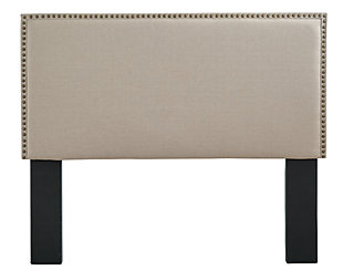 Chasebrook Queen/Full Upholstered Headboard, Beige, large