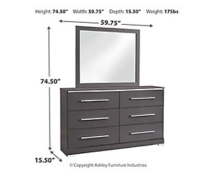 Steelson Dresser and Mirror, , large