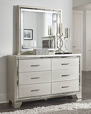 Lonnix Dresser and Mirror, , rollover