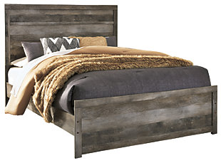 Wynnlow Queen Panel Bed, Gray, ...