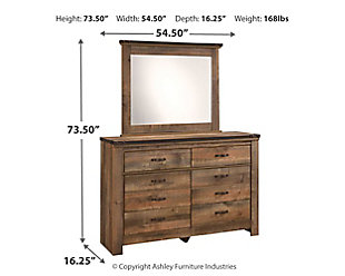 Trinell Dresser and Mirror, , large