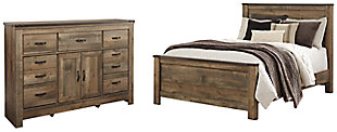 Trinell Queen Panel Bed with Dresser, , large