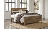 Trinell King Panel Bed, Brown, rollover