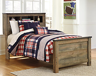 Trinell Twin Bookcase Bed, , rollover