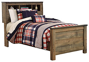Trinell Twin Bookcase Bed, , large