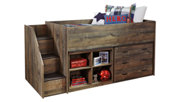 Trinell Twin Loft Bed with Storage, , large