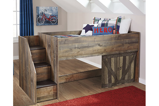 Trinell Twin Loft Bed Ashley, Twin Bed Ashley Furniture