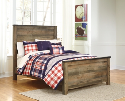 Trinell Full Panel Bed by Ashley HomeStore, Brown