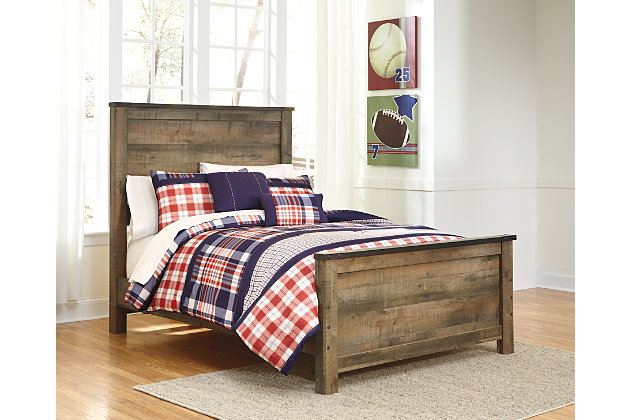 Trinell Full Panel Bed Ashley Furniture Homestore