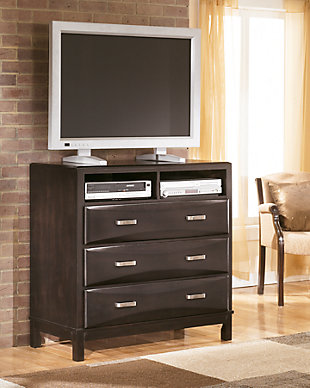 bedroom storage furniture.  large Kira Media Chest rollover Bedroom Storage Ashley Furniture HomeStore