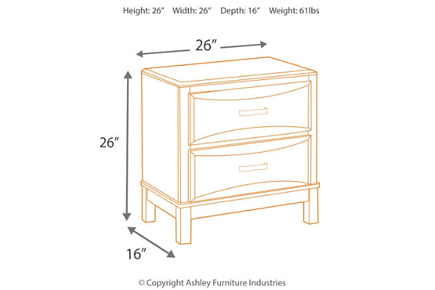Kira Nightstand, , large