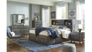 Caitbrook Queen Storage Bed, Gray, large