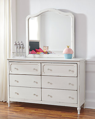 Faelene Dresser and Mirror, , rollover