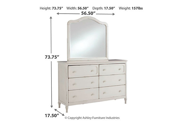 Faelene Dresser and Mirror, , large
