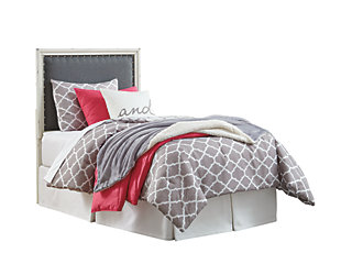 Faelene Twin Upholstered Headboard, , large