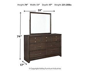 Brueban Dresser and Mirror, , large