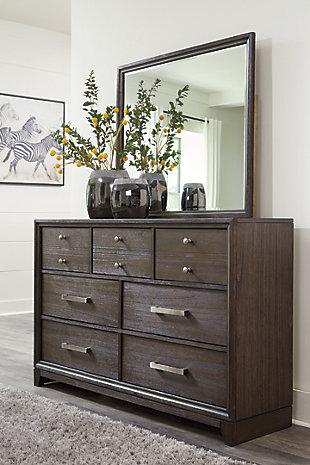 Brueban Dresser and Mirror, , rollover