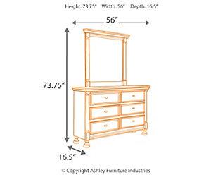 Kaslyn Dresser and Mirror, , large