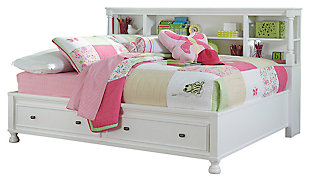 Kaslyn Bookcase Bed, , large