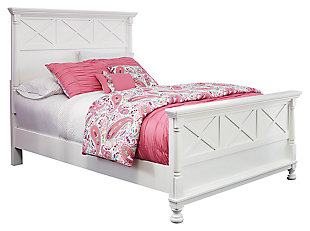 Kaslyn Panel Bed with 12 Inch Memory Foam Mattress in a Box, , large