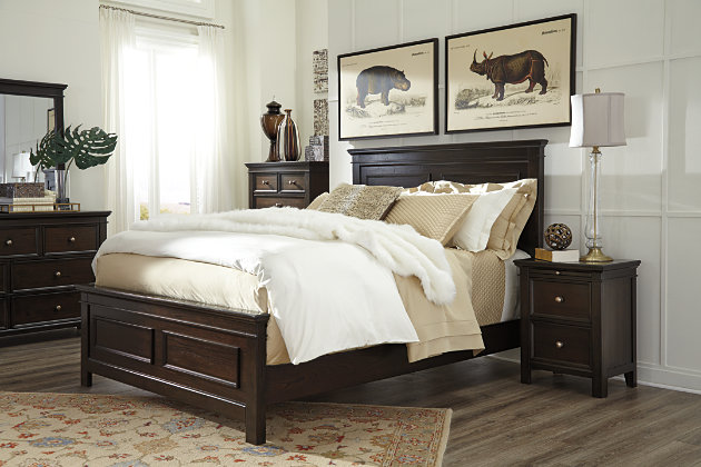 Log Style Nightstands