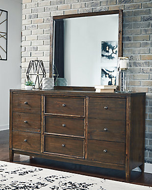Kisper Dresser and Mirror, , rollover