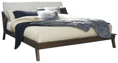 Kisper Queen Platform Bed Ashley Furniture Homestore
