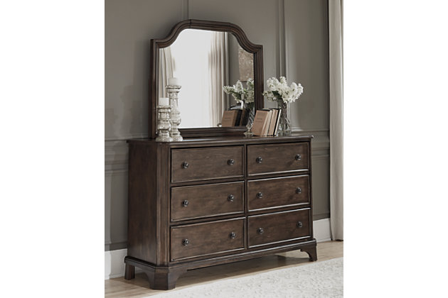 Adinton Dresser and Mirror, , large