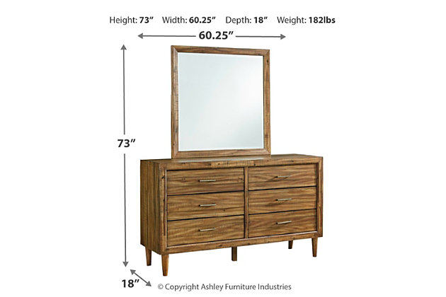 Broshtan Dresser and Mirror, , large