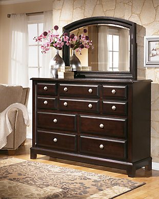 Ridgley Dresser and Mirror, , large