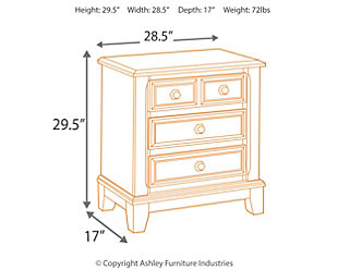 Ridgley Nightstand, , large