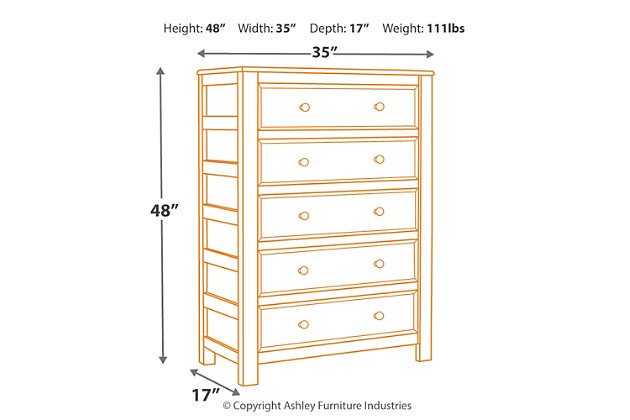 Jaysom Chest of Drawers, , large