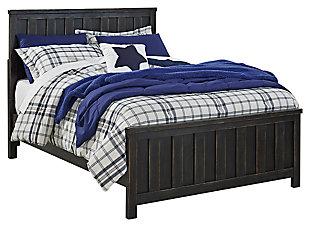 Jaysom Panel Bed, , large