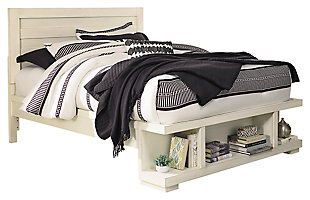 Blinton Queen Panel Bed with Storage, , large