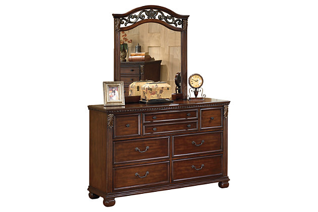 Leahlyn Dresser and Mirror, , large