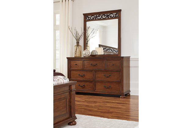 Lazzene Dresser and Mirror, , large