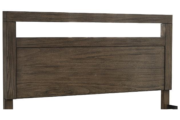 Deylin Queen Panel Headboard, Grayish Brown, large