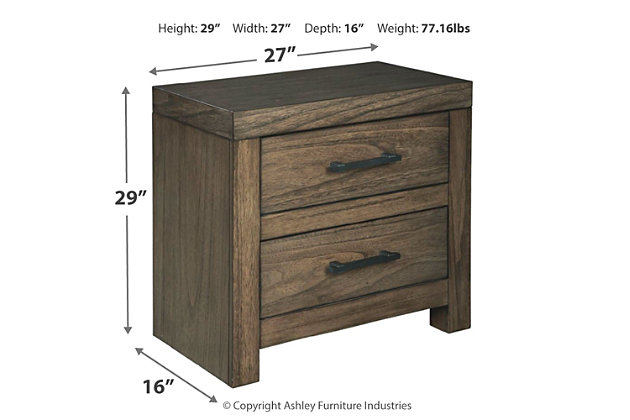 Deylin Nightstand, , large