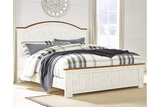 Wystfield Queen Panel Bed Ashley Furniture Homestore