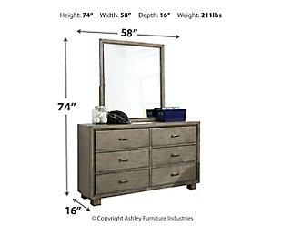 Arnett Dresser and Mirror, , large