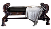 North Shore Upholstered Bench, , large